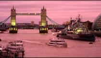 Tower Bridge at sundown