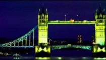 Tower Bridge evening panning