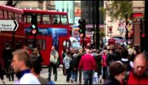 Daytime street traffic on October 7, 2011 in London