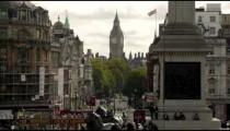 Big Ben and Trafalgar Square in London