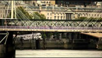 Hungerford Bridge in London
