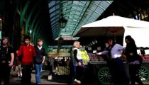 Covent Garden in England on October 10, 2011 in London