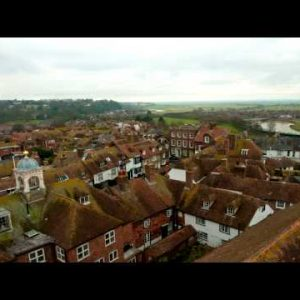 Time-lapse of the rooftops of Rye, East Sussex, England.