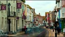 Timelapse of a street in Rye