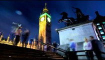 Time-lapse of Big Ben in London