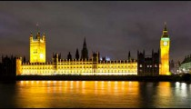 Big Ben and Westminster time-lapse in London