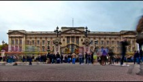 Time-lapse of Buckingham Palace in London