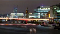 Time-lapse of the London Bridge in London