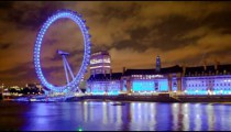 Time-lapse of the London Eye in London