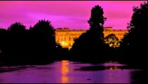 Buckingham Palace time-lapse from Saint James Park in London