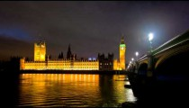 Westminster and Big Ben time-lapse in London