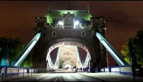 Tower Bridge time-lapse in England