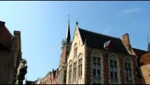Brugge, Belgium church tower.