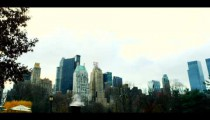 Royalty Free Stock Footage of Cityscape in Central Park, Manhattan, New York City.