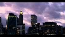 Royalty Free Stock Footage of Time lapse of New York City sky and skyscrapers.