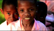 Group of young Kenyan girls.