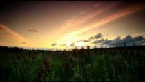 Time-lapse sunset near a village in Kenya.