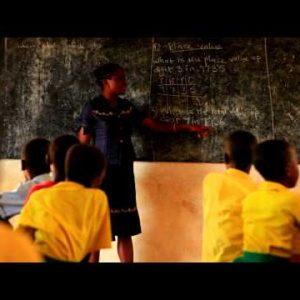 Schoolteacher in Kenya.