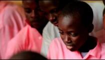 Students in school in Kenya.