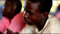School classroom of students in Kenya.