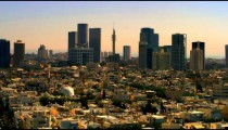 A Tel Aviv cityscape shot in Israel at 4k with Red.