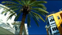 Stock Video Footage of Bialik Square buildings and sky in Tel Aviv shot in Israel at 4k with Red.