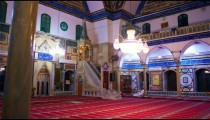 Royalty Free Stock Video Footage of Jezzar Pasha Mosque shot in Israel at 4k with Red.