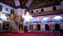 Royalty Free Stock Video Footage of mosque interior shot in Israel at 4k with Red.
