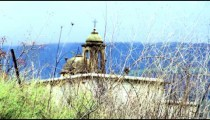 Stock Video Footage of an old Christian church near Banias shot in Israel at 4k with Red.
