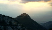 Stock Video Footage of Nimrod Fortress overlooking the valley shot in Israel at 4k with Red.