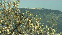 Royalty Free Stock Video Footage of Mount Tabor shot in Israel at 4k with Red.