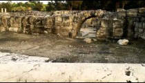 Royalty Free Stock Video Footage of Beit She'an ruins shot in Israel at 4k with Red.