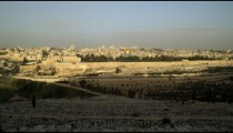 Royalty Free Stock Video Footage of Old Jerusalem filmed in Israel at 4k with Red.
