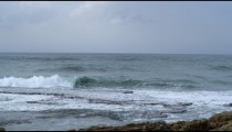 Royalty Free Stock Video Footage of Caesarea coastline shot in Israel at 4k with Red.