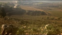 Stock Footage of pastoral hillsides in the Golan Heights in Israel.