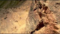 Stock Footage of a desert cliff in Israel.