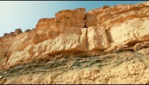 Stock Footage of desert cliffs in Israel.