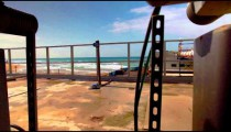 Stock Footage of a Mediterranean Sea desalination plant in Israel.