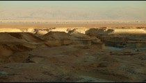 Stock Footage of a colorful desert landscape in Israel.