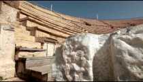 Stock Footage of the Caesarea theater in Israel.