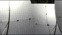 A solar power plant shot in Israel.