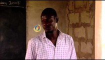 Royalty Free Stock Footage of African teacher in classroom.