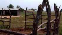 Royalty Free Stock Footage of Grassy huts in Africa.