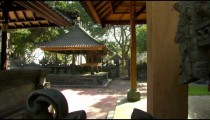 Traditional buildings in Bali.
