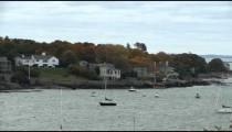 Looking across Marblehead Harbor in Massachusetts.