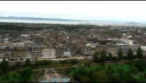 Panorama of a city in England.