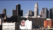 Clip of the Los Angeles skyline.