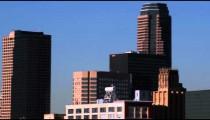 Los Angeles cityscape.