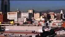 Cityscape of Los Angeles California.
