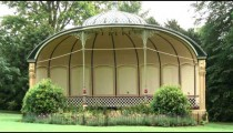 Shot of a gazebo in England.